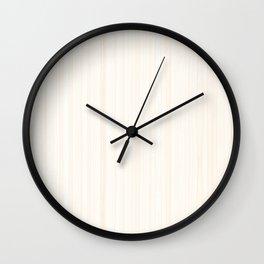 Light Wood Texture Wall Clock
