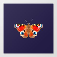 Geometric Butterfly Canvas Print