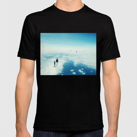 Heaven's already here above the clouds T-shirt