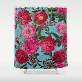 Vintage & Shabby Chic - Summer Tropical Garden I Shower Curtain