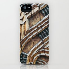 A Maori Carving iPhone Case