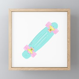 penny board Framed Mini Art Print