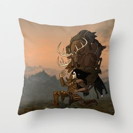 The Reality of Gaming  Throw Pillow