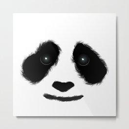 Panda Love Metal Print