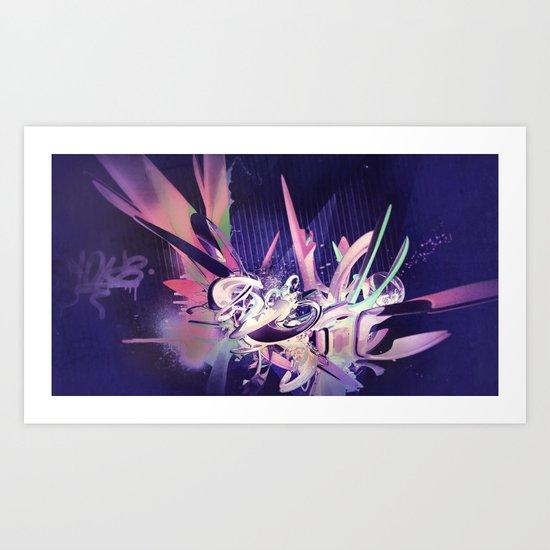Defff (Noche) Art Print