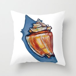 Shell two Throw Pillow
