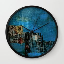 Palafitas Wall Clock