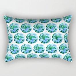 Earth Drawing Rectangular Pillow