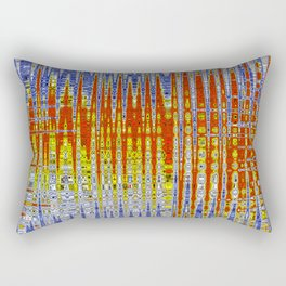 Colour in Tempo Rectangular Pillow