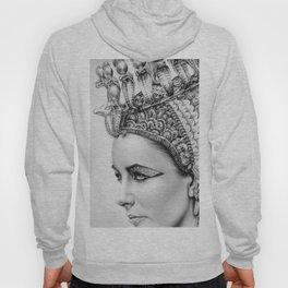 Elizabeth Taylor Cleopatra Portrait Hoody
