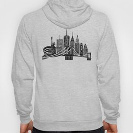 Linocut New York Hoody