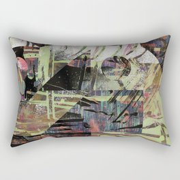 Still Holding Tight To This Dream Of Distant Light Rectangular Pillow