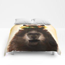 Capybara Shining Comforters
