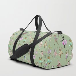 Animal Ballet Hipsters - Green Duffle Bag