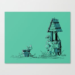 Wishing Well Canvas Print