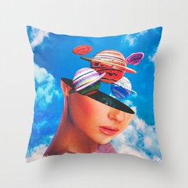 External Throw Pillow