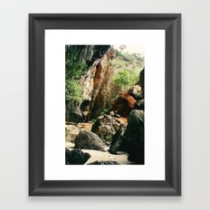 Railay Beach TH - Trail I Framed Art Print