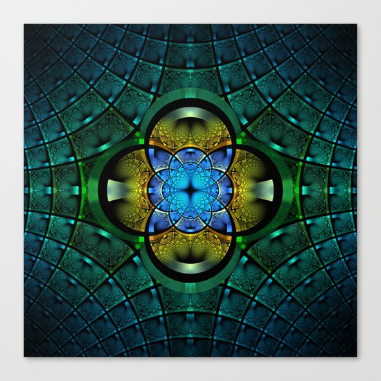 Seeking Zen Canvas Print