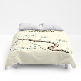 Anatomy of an Earthworm Comforters