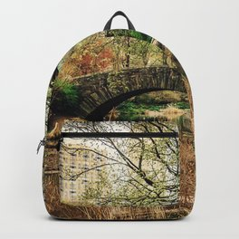 A Stroll Through Central Park in the Spring Backpack