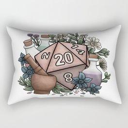 Alchemist D20 Tabletop RPG Gaming Dice Rectangular Pillow