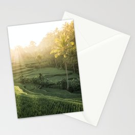 Morning Sun in Bali Stationery Cards