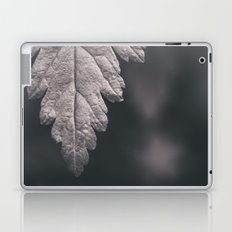 Black and White Forest Leaf Laptop & iPad Skin