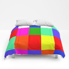 Coloured Digits of Pi (20 digits) Comforters