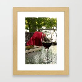 Recipe for Relaxation Framed Art Print