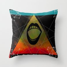 Rock Lives On Throw Pillow