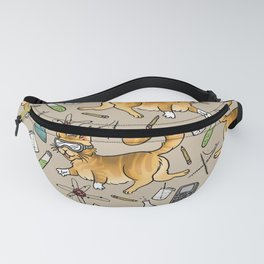 STEM Cats Fanny Pack