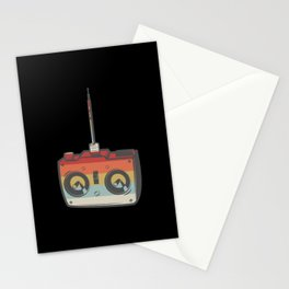 Remote RC Car Model Retro Stationery Cards