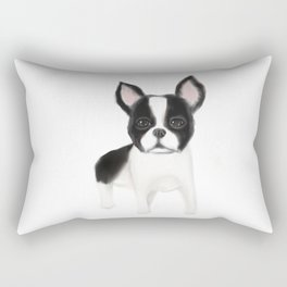 boston terier Rectangular Pillow