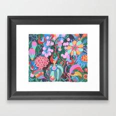 Hidden House Framed Art Print
