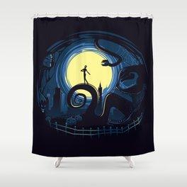 Spider Nightmares Shower Curtain