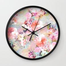 Love of a Flower Wall Clock