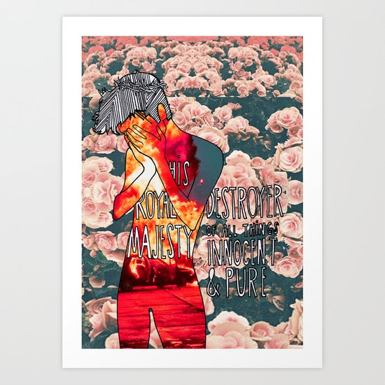 A P S king Art Print
