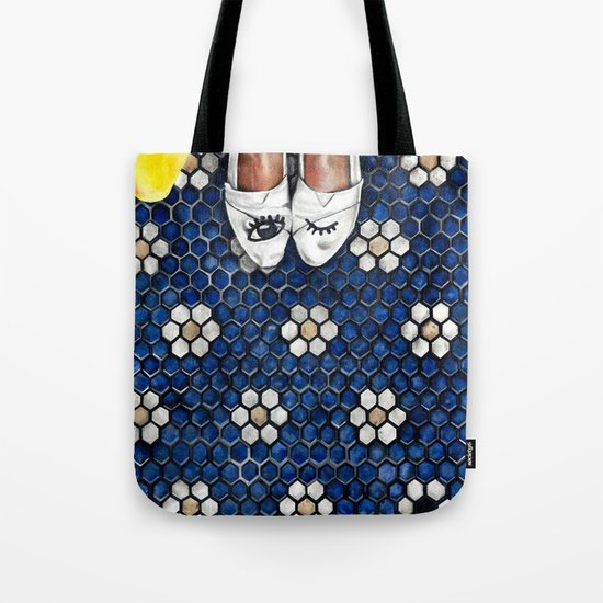 Art Beneath Our Feet Project - Grand Rapids Tote Bag