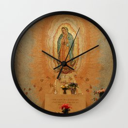 Our Lady of Guadalupe Wall Clock
