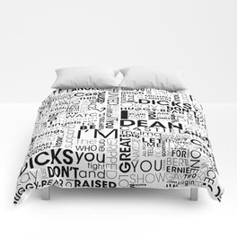 Put wings to your words (Destiel) A Comforters