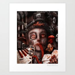 Inspiration Overload  Art Print