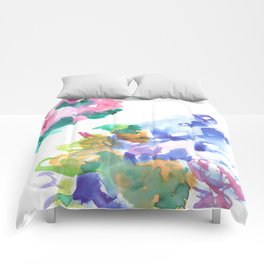 180802 Beautiful Rejection  4| Colorful Abstract Comforters