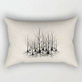 Pyramidal Neuron Forest Rectangular Pillow
