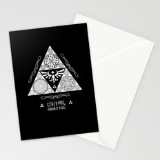 Legend of Zelda Kingdom of Hyrule Crest Letterpress Vector Art Stationery Cards