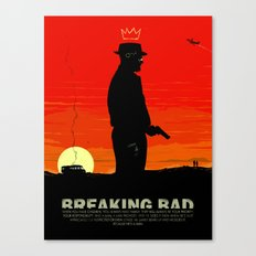 Break Bad - Heisenberg Canvas Print