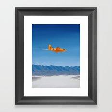 Bell X-1 Framed Art Print