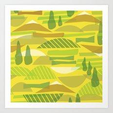 Italian Countryside Art Print