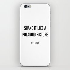 Shake it like a picture iPhone & iPod Skin