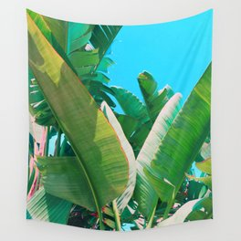Pop Art Banana Leaf Wall Tapestry
