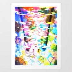 born this way. Art Print
